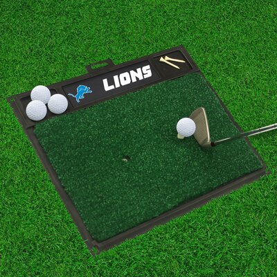 NFL - Golf Hitting Mat NFL Team: Detroit Lions