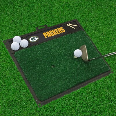 NFL - Golf Hitting Doormat NFL Team: Green Bay Packers