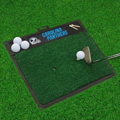 NFL - Golf Hitting Doormat NFL Team: Carolina Panthers