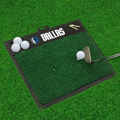 Golf Hitting Mat NBA Team: Dallas Mavericks