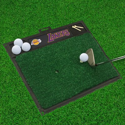 Golf Hitting Mat NBA Team: Los Angeles Lakers