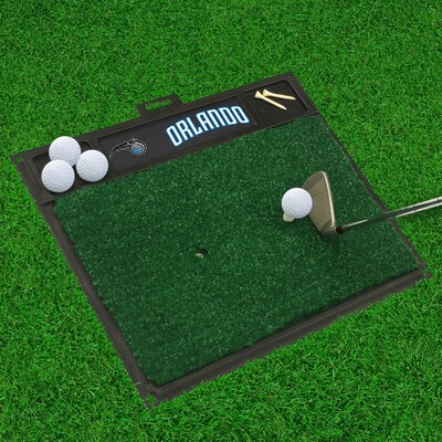 Golf Hitting Mat NBA Team: Orlando Magic