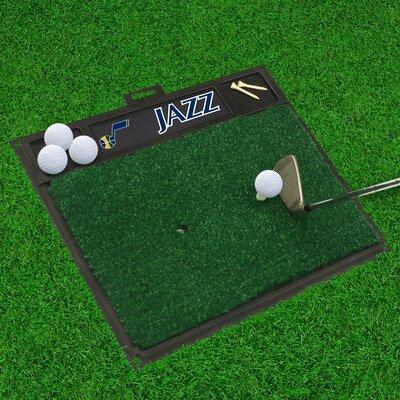 Golf Hitting Mat NBA Team: Utah Jazz