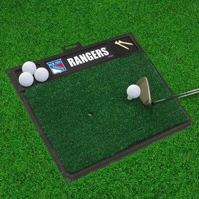 NHL - Washington Capitals Golf Hitting Doormat NHL Team: New York Rangers