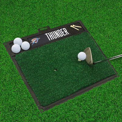 Golf Hitting Mat NBA Team: Oklahoma City Thunder