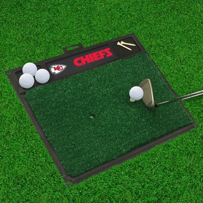 NFL - Golf Hitting Mat NFL Team: Kansas City Chiefs