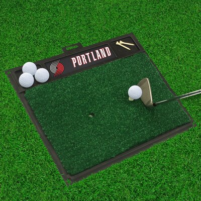 Golf Hitting Mat NBA Team: Portland Trail Blazers