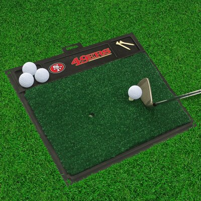 NFL - Golf Hitting Doormat NFL Team: San Francisco 49ers