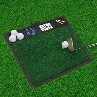NFL - Golf Hitting Mat NFL Team: Indianapolis Colts