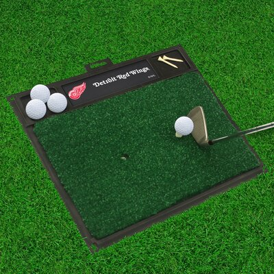 NHL - Washington Capitals Golf Hitting Mat NHL Team: Detroit Red Wings
