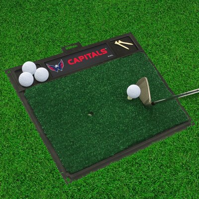 NHL - Washington Capitals Golf Hitting Mat NHL Team: Washington Capitals