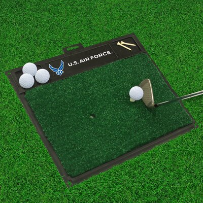 MIL U.S. Air Force Golf Hitting Doormat Military Branch: Air Force