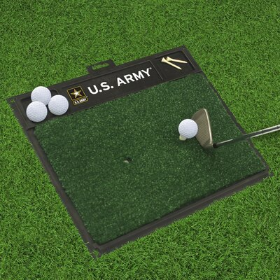 MIL U.S. Air Force Golf Hitting Doormat Military Branch: Army