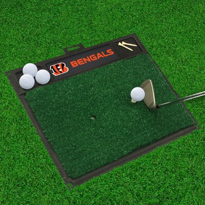 NFL - Golf Hitting Mat NFL Team: Cincinnati Bengals