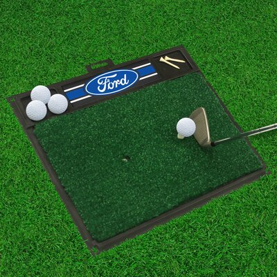 Ford - Ford Oval with Stripes Golf Hitting Doormat