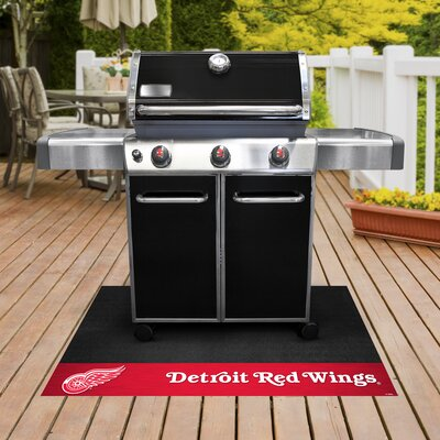 NHL Grill Utility Mat NHL Team: Detroit Red Wings