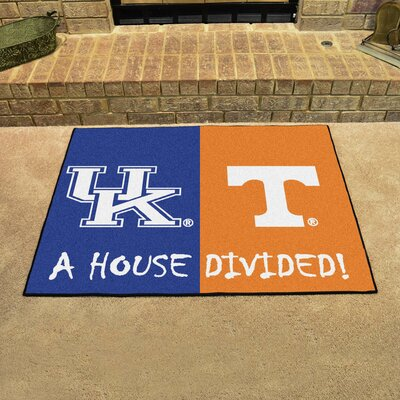 NCAA House Divided: Kentucky / Tennessee House Divided Mat