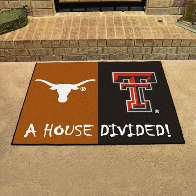 NCAA House Divided: Texas / Texas Tech House Divided Mat 11097