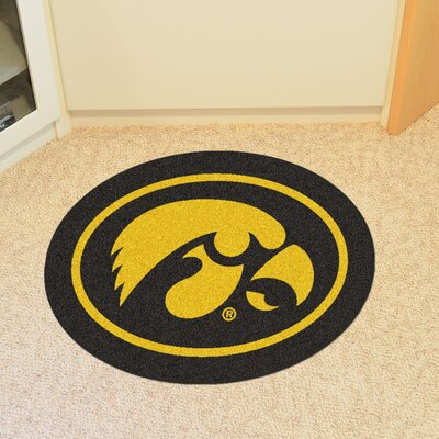 NCAA University of Iowa Mascot Mat