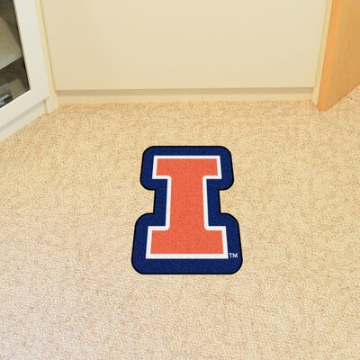 NCAA University of Illinois Mascot Mat