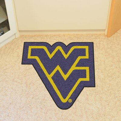 NCAA West Virginia University Mascot Mat