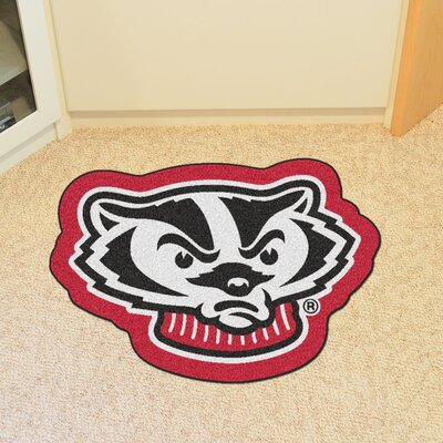 NCAA University of Wisconsin Mascot Mat