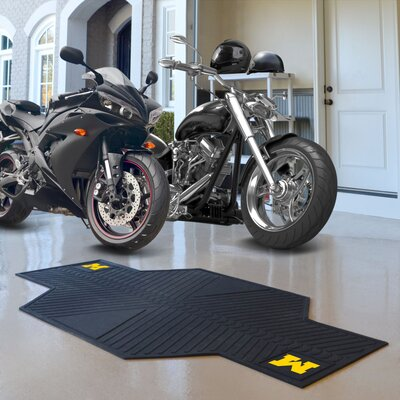 NCAA University of Michigan Motorcycle Motorcycle Utility Mat