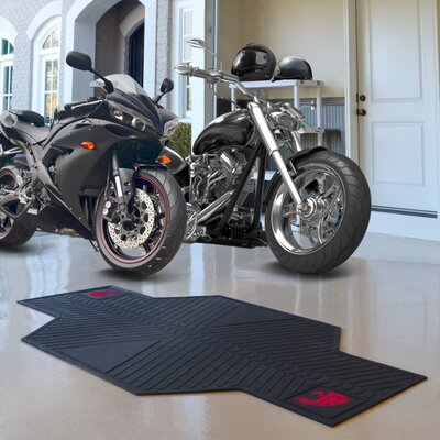 NCAA Washington State University Motorcycle Motorcycle Utility Mat