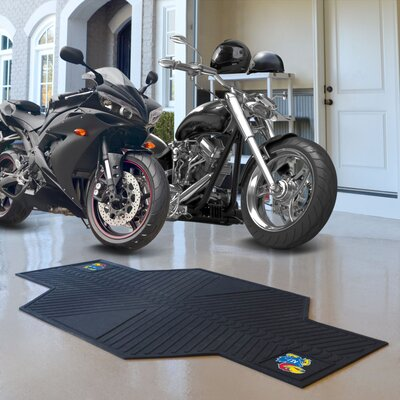 NCAA University of Kansas Motorcycle Utility Mat