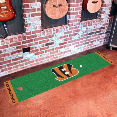 NFL Cincinnati Bengals Putting Green Mat