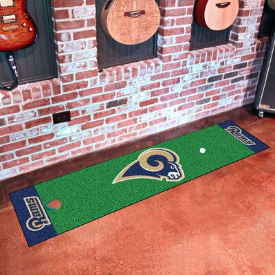 NFL Los Angeles Rams Putting Green Mat
