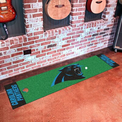 NFL Carolina Panthers Putting Green Mat