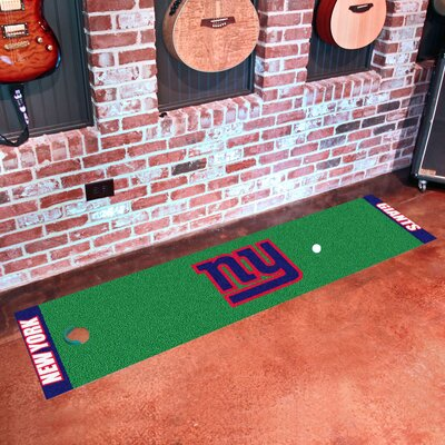 NFL New York Giants Putting Green Mat
