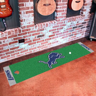 NFL Detroit Lions Putting Green Mat