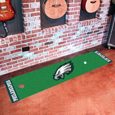 NFL Philadelphia Eagles Putting Green Mat 9025