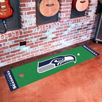 NFL Seattle Seahawks Putting Green Mat 9029