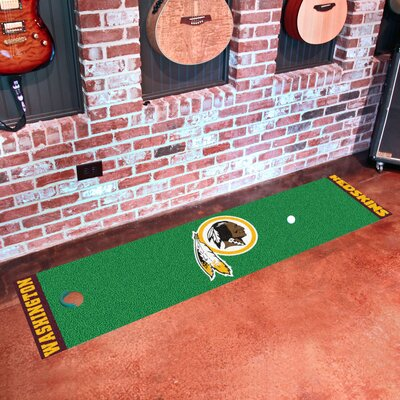NFL Washington Redskins Putting Green Mat 9033