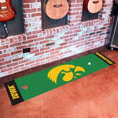 NCAA University of Iowa Putting Green Doormat
