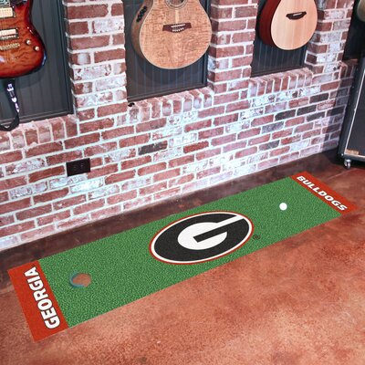 NCAA University of Georgia Putting Green Doormat