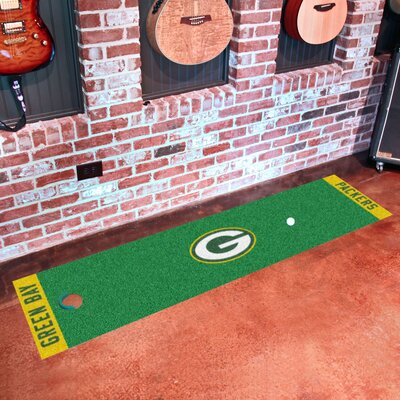 NFL Green Bay Packers Putting Green Mat