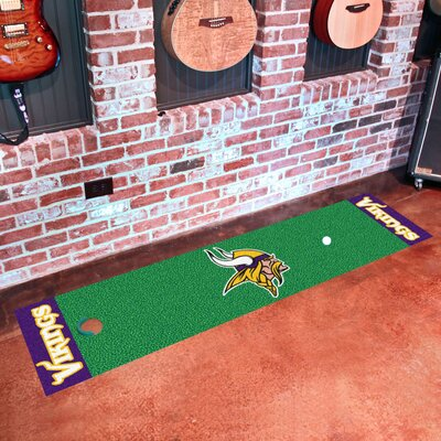 NFL Minnesota Vikings Putting Green Mat 9019