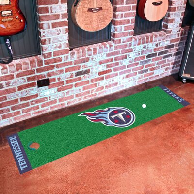 NFL Tennessee Titans Putting Green Mat 9032