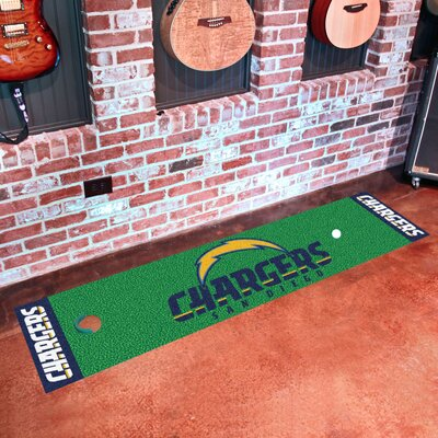 NFL San Diego Chargers Putting Green Mat