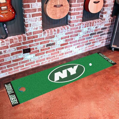 NFL New York Jets Putting Green Mat