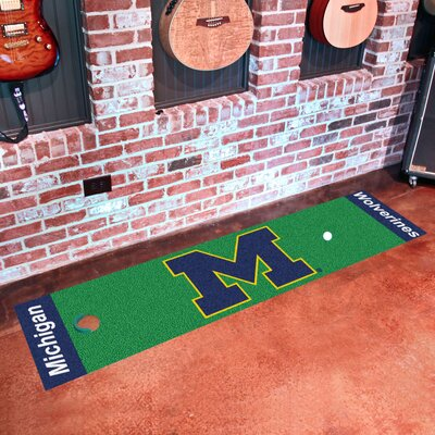NCAA University of Michigan Putting Green Doormat