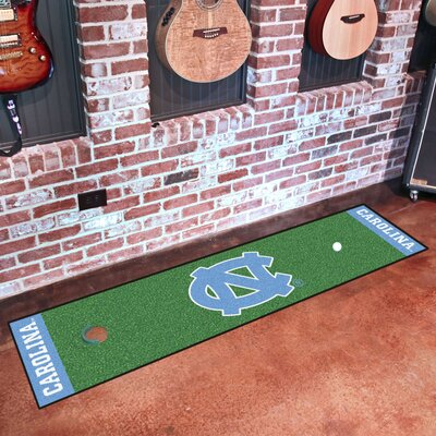 NCAA University of North Carolina Chapel Hill Putting Green Mat