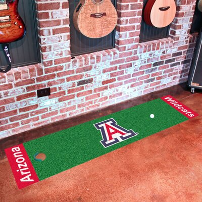 Collegiate NCAA Syracuse University Putting Green Doormat NCAA Team: Arizona