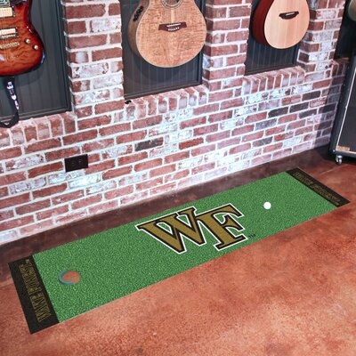 NCAA Syracuse University Putting Green Mat NCAA Team: Wake Forest