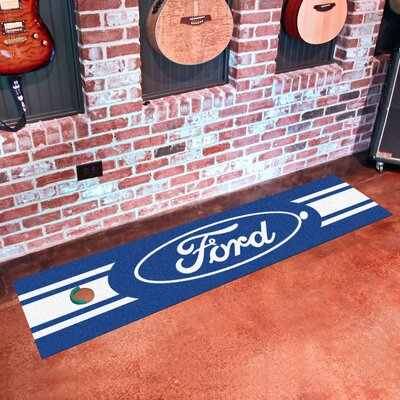 Ford - Ford Oval Putting Green Mat