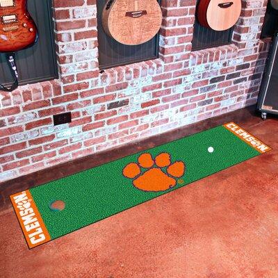 Collegiate NCAA Syracuse University Putting Green Doormat NCAA Team: Clemson
